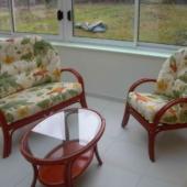 017 fauteuil et canape Golf mandarine rotin veranda exodia home design rennes
