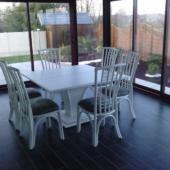 028 sejour Talia table carree rotin veranda exodia home design rennes