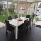 032 table extensible rectangulaire veranda exodia home design rennes