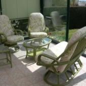 042 salon Madrid rotin veranda laguna feuilles exodia home design rennes