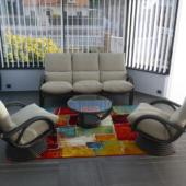 045 fauteuils relax titanio canape 3 places Valence veranda exodia home design rennes