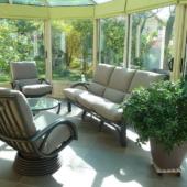 061 salon Valence rotin veranda fauteuil relax titanio exodia home design rennes