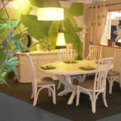 114 sejour Roma table rotin linea ivoire exodia home design rennes