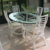 sejour rotin Roma verre ivoire veranda exodia home design rennes