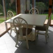 sejour Talia rotin square ivoire extensible veranda exodia home design