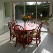 sejour Diana rotin mandarine veranda exodia rennes