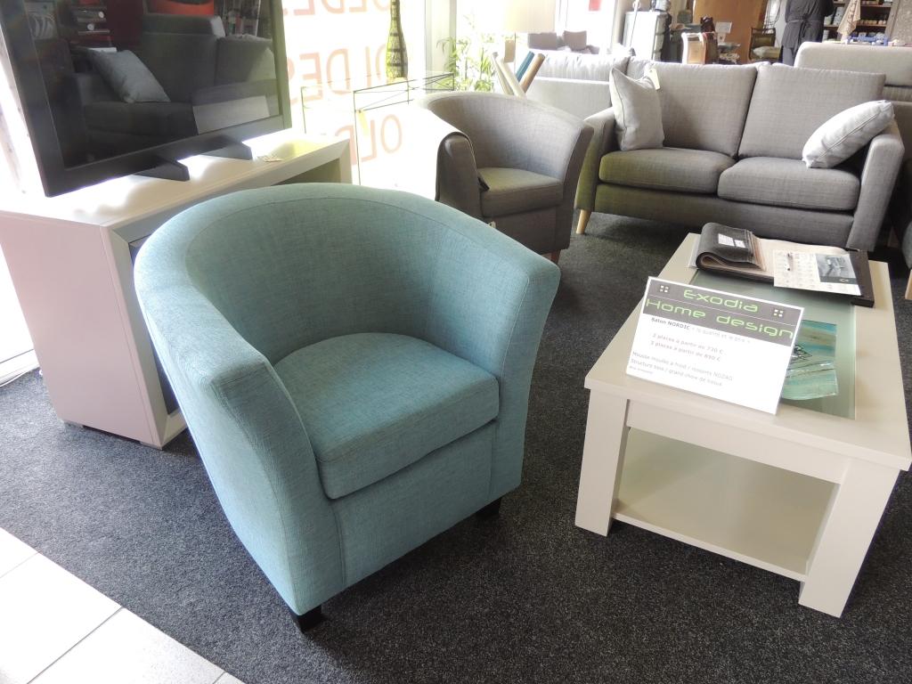 fauteuil cabriolet EXODIA bleu