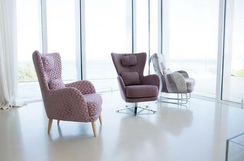 fauteuil Kylian FAMA pieds divers