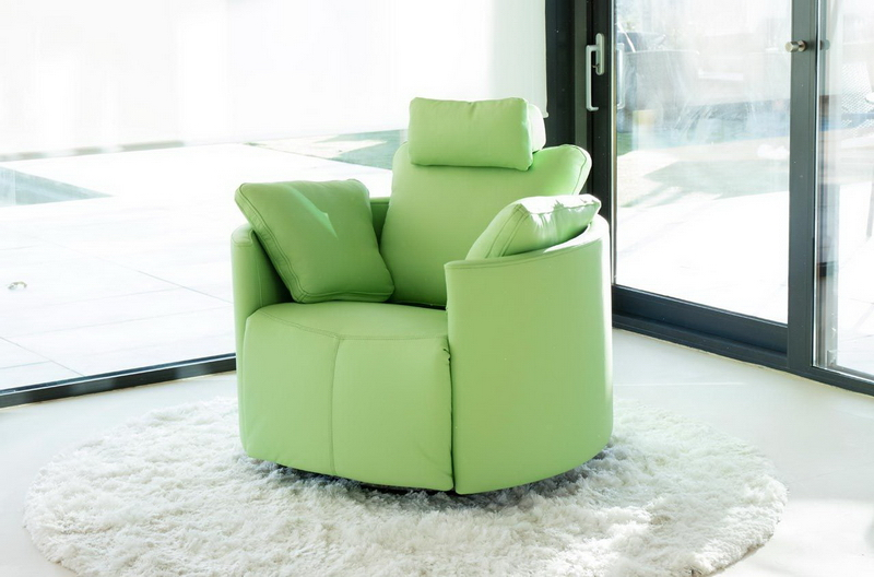 fauteuil MOON FAMA vert