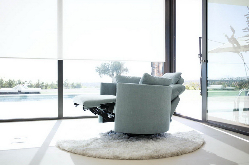 fauteuil MOON tissu de relaxation