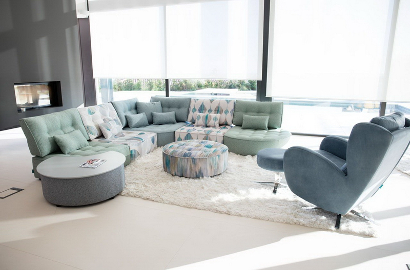 salon deco modulable arianne love bleu et blanc FAMA exodia home design
