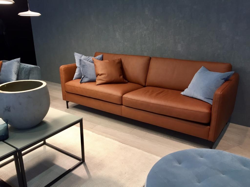 canape cuir brun Monaco vilmers Exodia home design