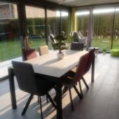 table ceramique veranda