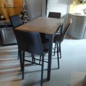 table ceramique haute design industriel