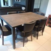 table ceramique style industriel