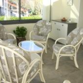 143 fauteuils rotin golf et jeu ivoire