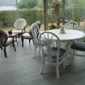 159 meubles rotin veranda blanc et taupe