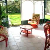 160 salon rotin Valence veranda verte