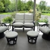 161 canape fauteuils relax et poufs rotin anthracite veranda