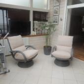035 fauteuils relax pivotant rotin Valence