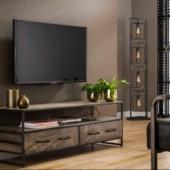 meuble TV manguier industriel
