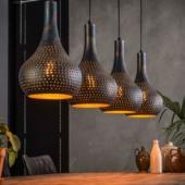 luminaire industriel suspension metal