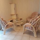 193 salon rotin Golf ivoire rayures veranda