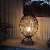 lampe design industriel ovale luminaire