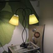 lampe deux têtes design