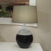 lampe deux tons gris deco