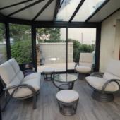 34 canape 2 places fauteuils pivotants rotin Valence titanio exodia home design rennes