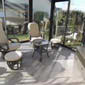 41 fauteuils Madrid et pouf rotin titanio veranda exodia home design rennes