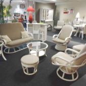 48 salon Madrid rotin nata fauteuil pivotant et relax exodia home design rennes